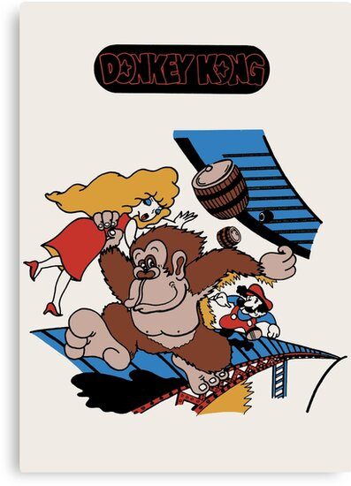 Donkey Kong by SophisticatC x Studio Momo╰༼ ಠ益ಠ ༽