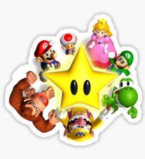 Mario and Friends Sticker