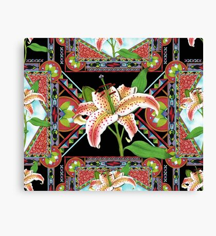 Gilding the Lily Canvas Print