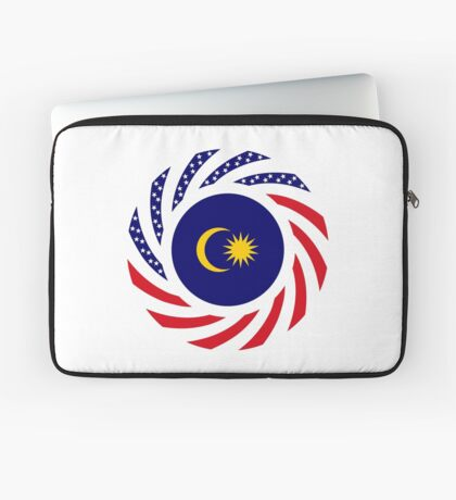 Malaysian American Multinational Patriot Flag Series Laptop Sleeve