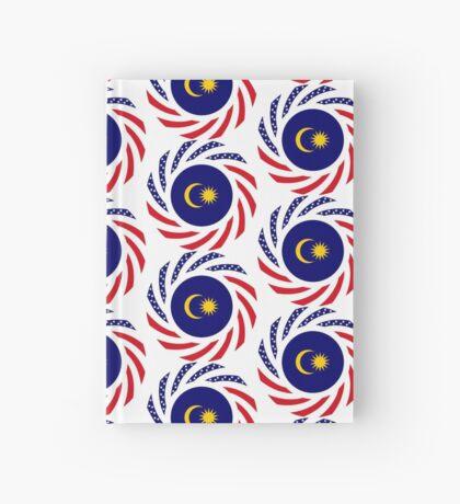 Malaysian American Multinational Patriot Flag Series Hardcover Journal