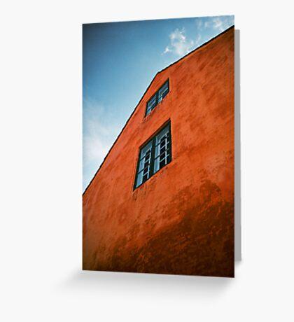 House in Nyboder, Copenhagen, Denmark Greeting Card