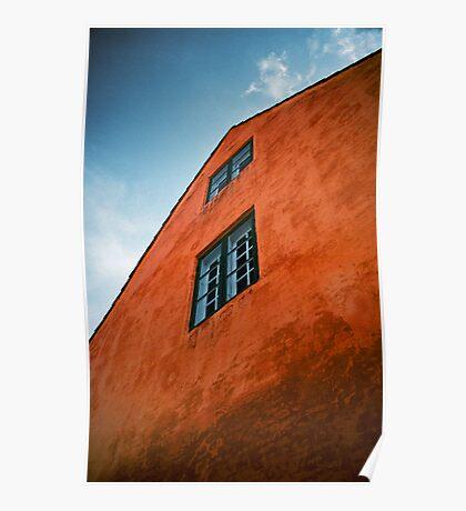 House in Nyboder, Copenhagen, Denmark Poster