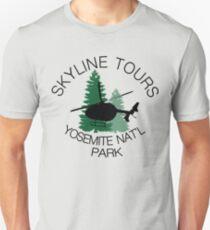 Skyline Helicopter Tours Yosemite National Park T-Shirt