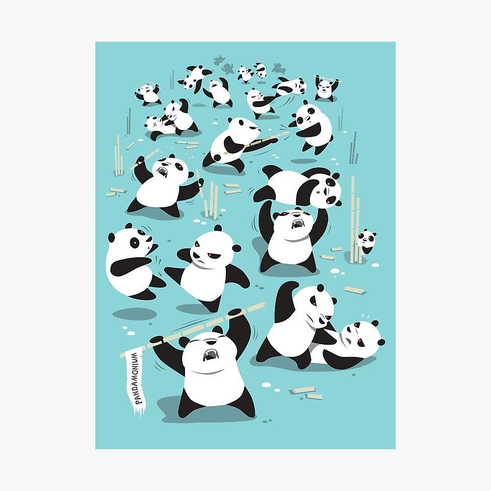 PANDAMONIUM Photographic Print
