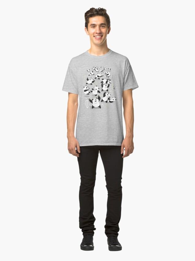 Alternate view of PANDAMONIUM Classic T-Shirt