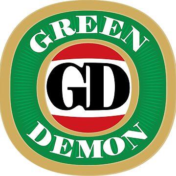 Green Demon VB by DebbieXBenson