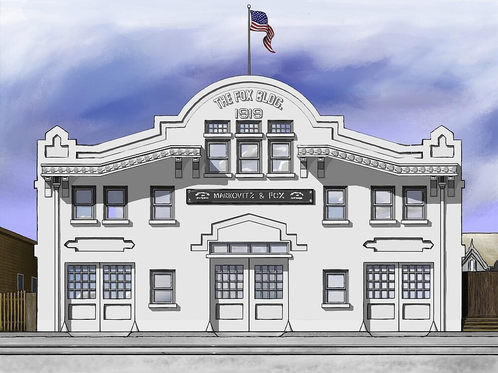 The Fox Building, San Jose by Avi Morgan