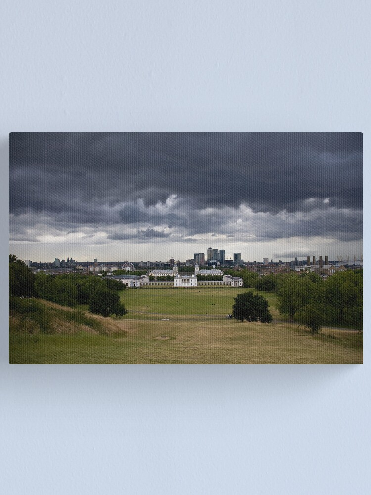 Alternate view of Meridian Storm Canvas Print