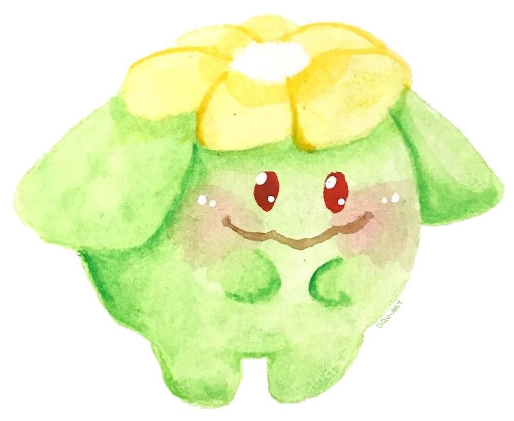 Skiploom Watercolor by squ-art