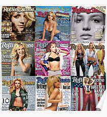 britney ROLLING stone Poster