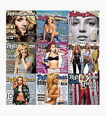 britney ROLLING stone Photographic Print