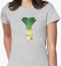 geek leek Women's Fitted T-Shirt