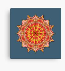 Sacred Pizza Canvas Print