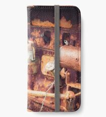 Rusty Tractor Engine iPhone Wallet/Case/Skin