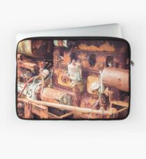 Rusty Tractor Engine Laptop Sleeve