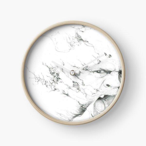 Acid Bath by Empty Jasper  Clock