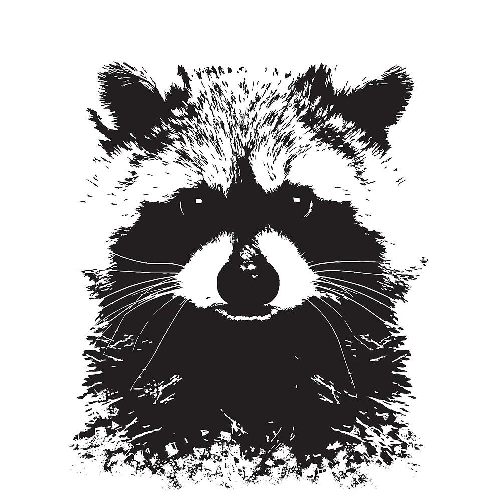 Trash Panda by juniperfrost