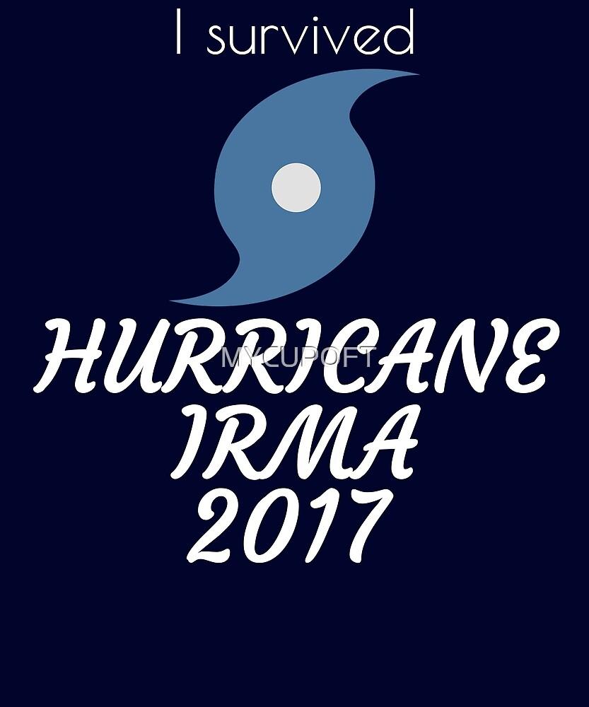 HURRICANE IRMA 2017 FLORIDA USA T-SHIRT by MYCUPOFT