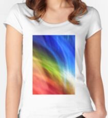 Overlap Women's Fitted Scoop T-Shirt