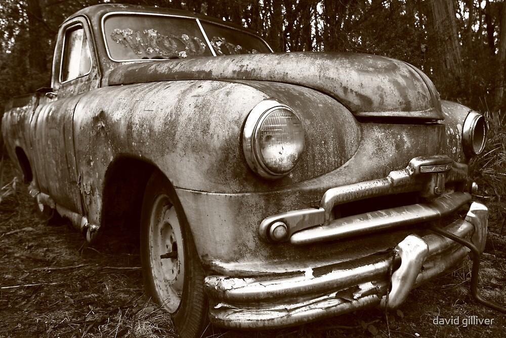 old car by david gilliver