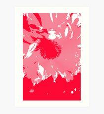 Waveternity Red 2 Art Print
