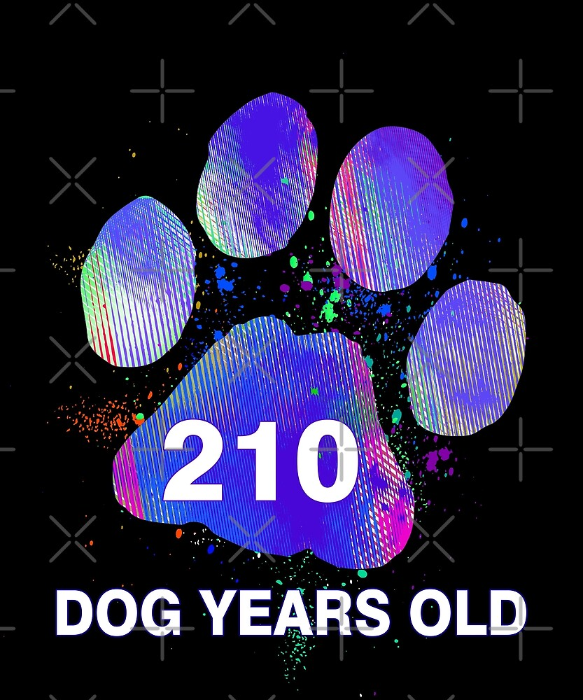 Awesome Dog Years Old Funny 30th Birthday Gift by SpecialtyGifts