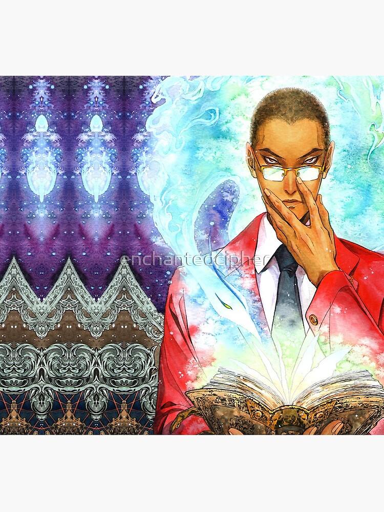 Recumon: the scholar and the Benu by enchantedcipher