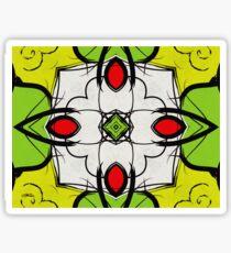 Color Symmetry Sticker