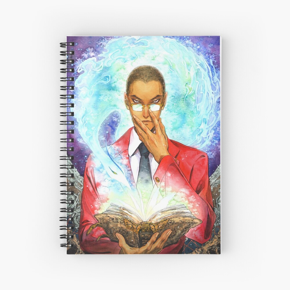 Recumon: the scholar and the Benu Spiral Notebook