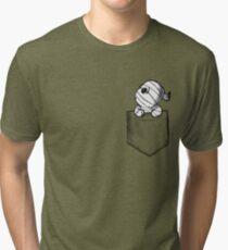 Pocket monster Tri-blend T-Shirt