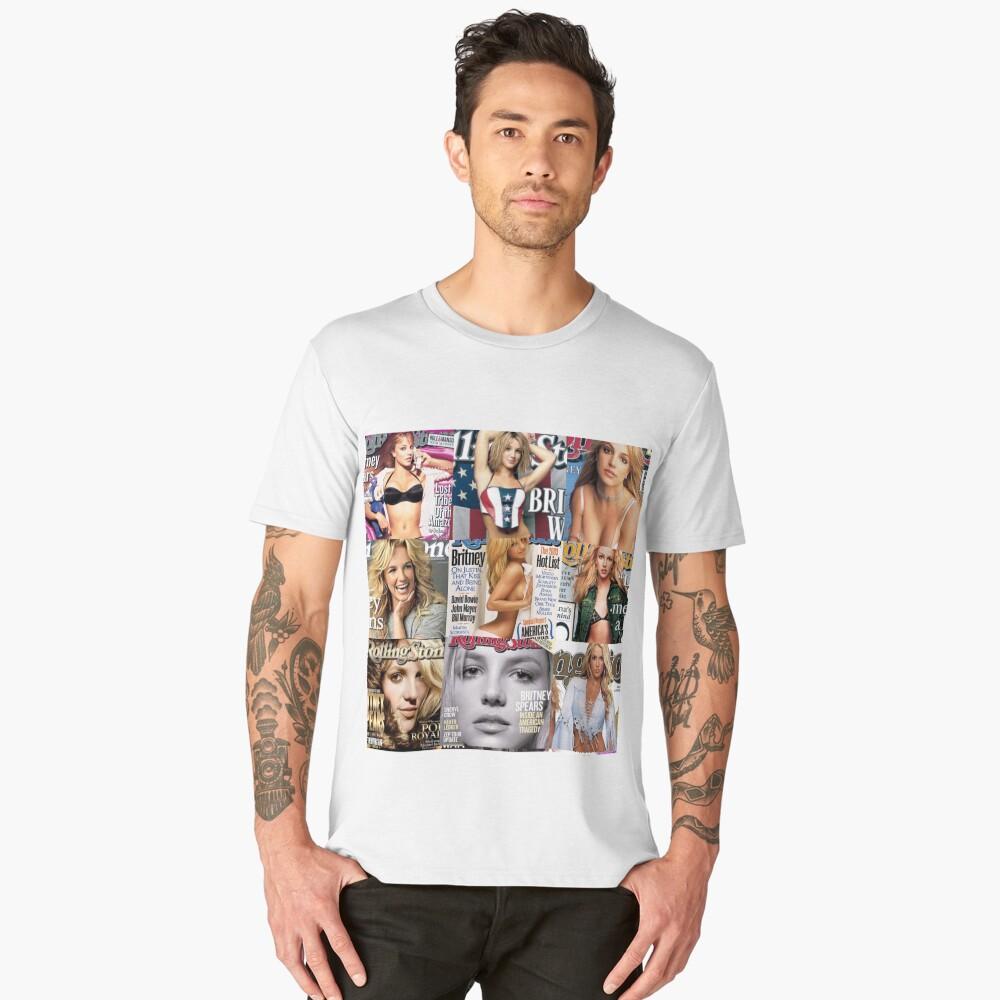BRIT ROLLING STONE 3 Men's Premium T-Shirt Front