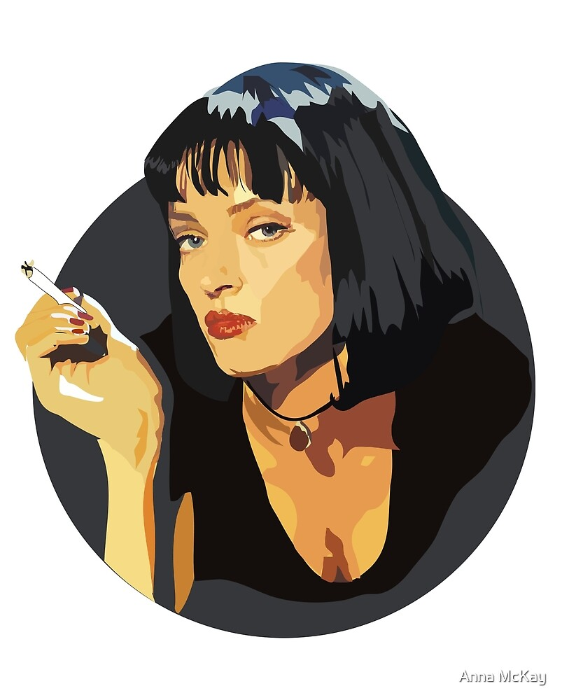 Mia Wallace by Anna McKay