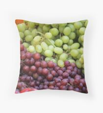 fruit greengrocer Throw Pillow