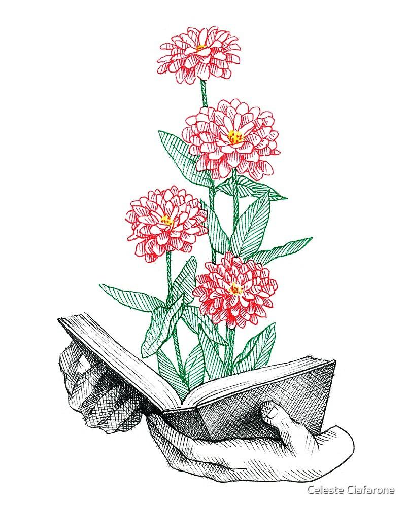 Buch in voller Blüte von Celeste Ciafarone