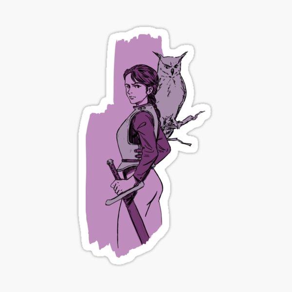 Athenan swordswoman Sticker