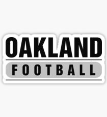 Oakland Football Sticker