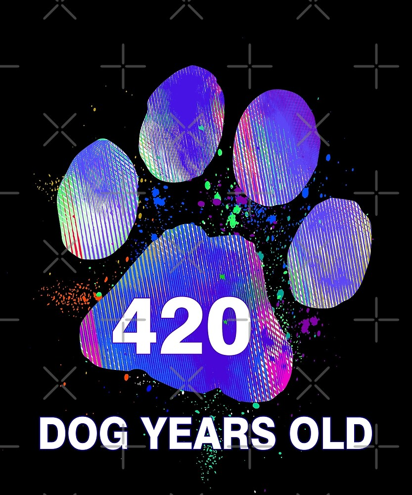 Awesome Funny Dog Years Old 60th Birthday Gift by SpecialtyGifts