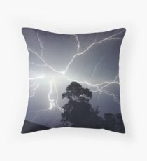 Sydney Lightning Explosion ! Throw Pillow