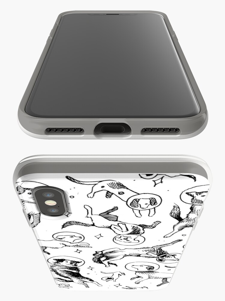 Alternate view of Space dogs iPhone Cases & Covers