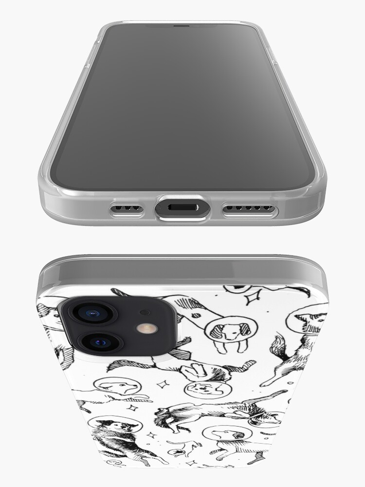 Alternate view of Space dogs iPhone Case & Cover