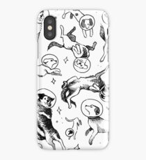 Space dogs iPhone XS Case