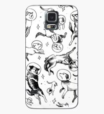 Funda/vinilo para Samsung Galaxy Space dogs