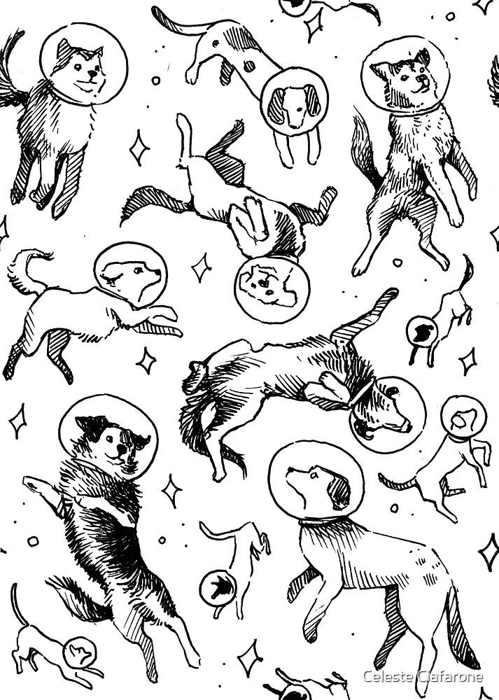 Raum Hunde von Celeste Ciafarone