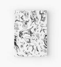 Space dogs Hardcover Journal