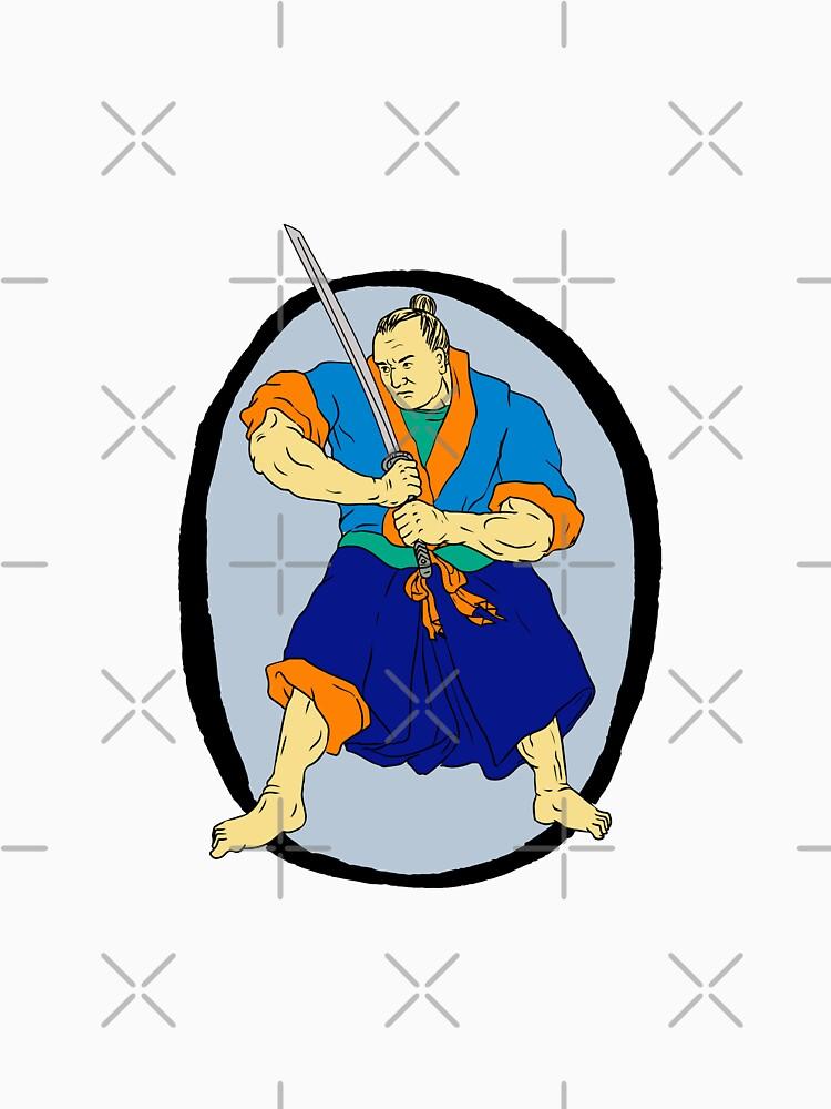 Samurai Warrior Katana Enso by patrimonio
