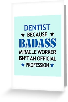 Dentist Surprise Birthday Badass Miracle Worker By Smily Tees
