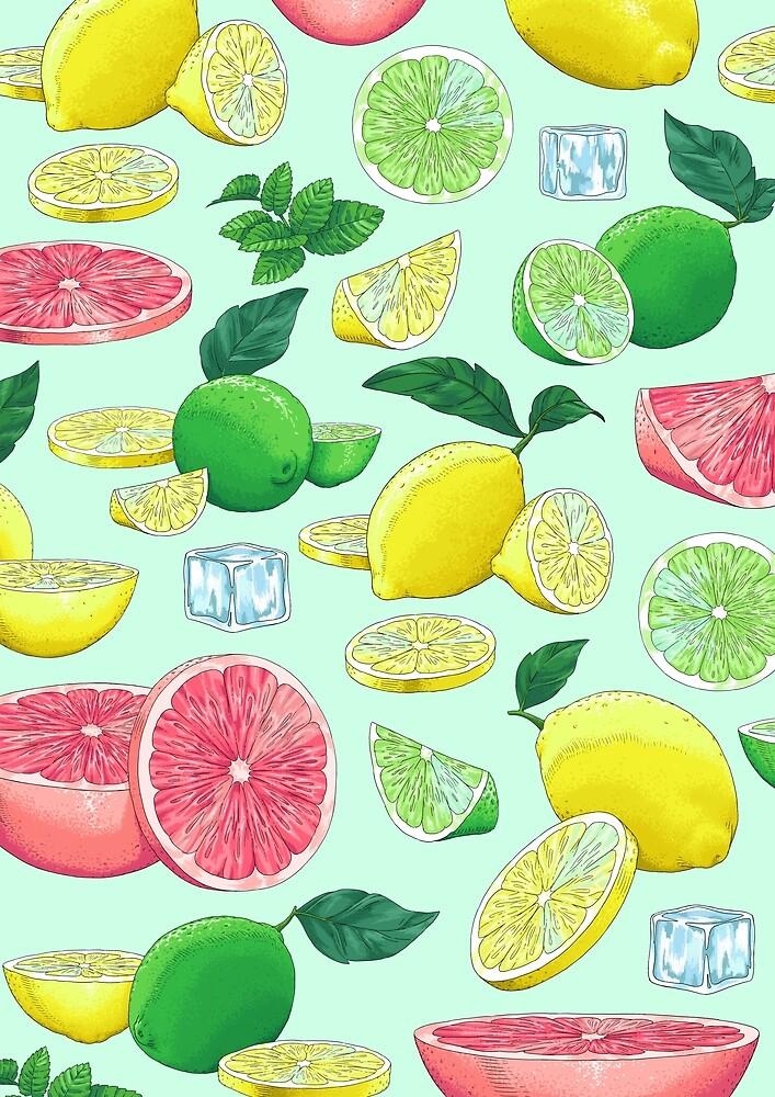 Citrusfrüchte by PatouBerlin