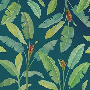 Banana leaves, tropics l by anushka777
