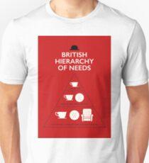British Hierarchy of needs Unisex T-Shirt
